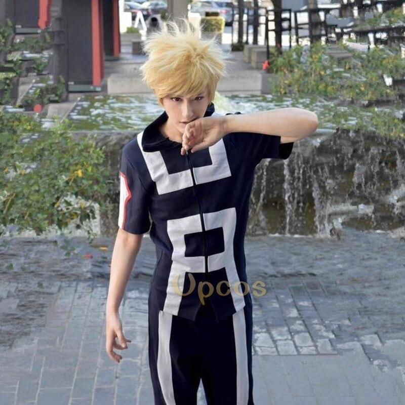 My Hero Academia Boku no Hero Academia Kohei Horikoshi Gym Cosplay Costume Wig