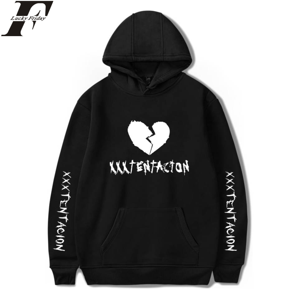 Cool And Fashion Style Hoodies Clothes Plus Size 4XL XXXTentacion Hoodies Hip Hop Print Man/Women Regular Sweatshirts