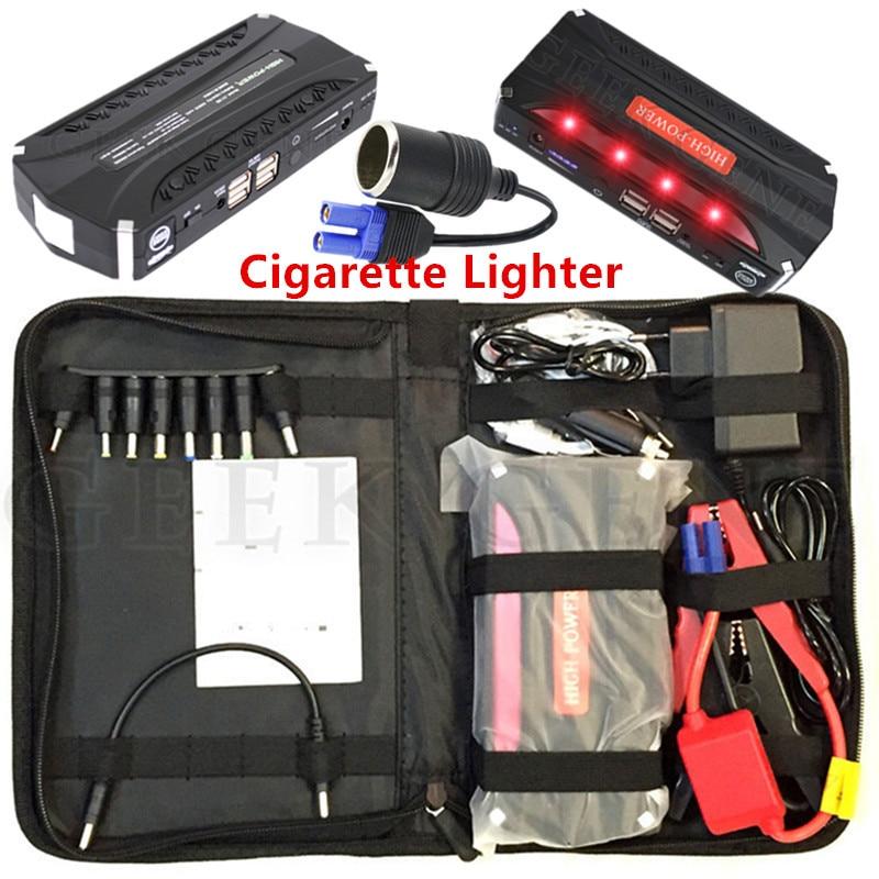 Ad alta Potenza Auto Caricabatteria 600A Batteria Portatile Starter 12 V Dispositivo di Avviamento Per Batteria Per Auto Booster Diesel CE
