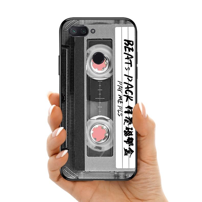 Retro Silicone suave TPU caso de telefone de volta Para Redmi 5 6 7 5Splus 6A Note7 case capa do telefone Para redmi S2 Note5 Note5A Note7