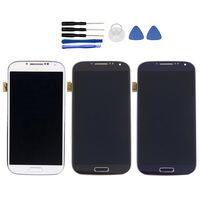 For SAMSUNG GALAXY S4 LCD Display Touch Screen Digitizer Assembly Replacement With Set Repair Tools For