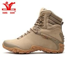 GUAN XIANG męska Taktyczne buty Boot antypoślizgowe Odporne na Zużycie Obóz Tenisówka kobiet Wspinaczka wędrówki Wodoodporna tłumienia Obuwia
