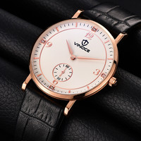 2016 New Luxury Watch Brand Watch Unique Small Stopwatch Casual Fashion Men S Watch Leather Quartz
