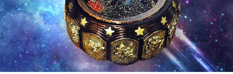 Constellation สาวรักวันวาเลนไทน์วันเกิดของขวัญ กระพริบดนตรีกล่องสำหรับ Box 6