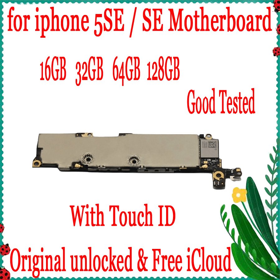 Without Touch ID for iPhone 5SE Motherboard,Original unlocked for iphone SE Logic board with IOS System,16gb / 32gb/ 64gbWithout Touch ID for iPhone 5SE Motherboard,Original unlocked for iphone SE Logic board with IOS System,16gb / 32gb/ 64gb