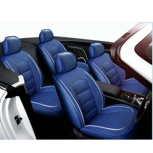 Image 5 - Carnong custom car seat cover leather same structure and size with original car seat  protector vehicle pickup auto seat covers