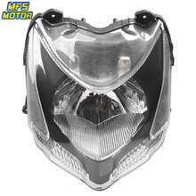 For 09-13 Ducati 848 Motorcycle Front Headlight Head Light Lamp Headlamp Assembly 2009 2010-2013 for chery riich m1 headlights headlight assembly front lights light headlamp 1pcs