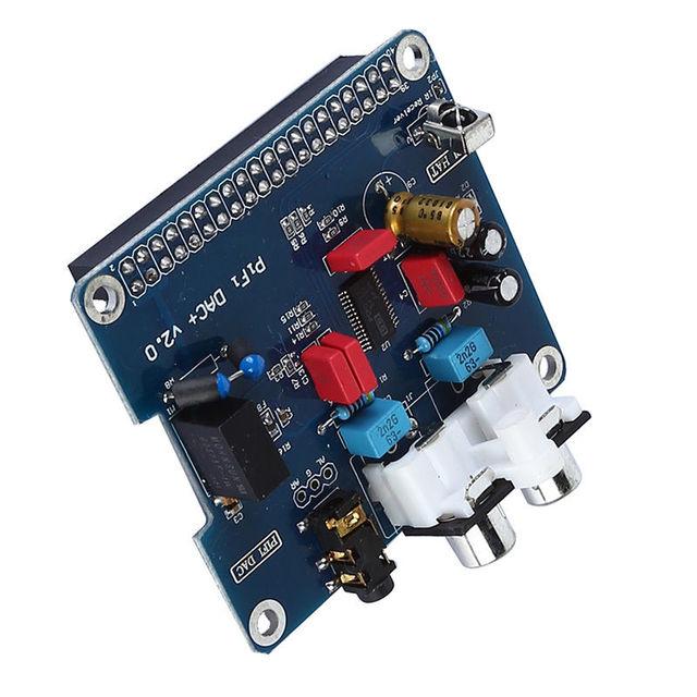HIFI DAC Audio Sound Card Module I2S interface for Raspberry pi B+ 2(BLUE)