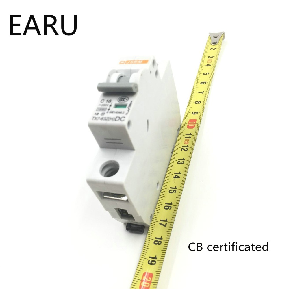 1p 3a Dc 250v Circuit Breaker Mcb For Pv Solar Energy Biner Box Wiring Diagram Photovoltaic System Battery C Curve Cb Certificated Din Rail Mounted In Breakers From Home
