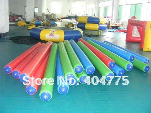 airtight inflatable water log 5x0.25m with free shipping+1 free pump