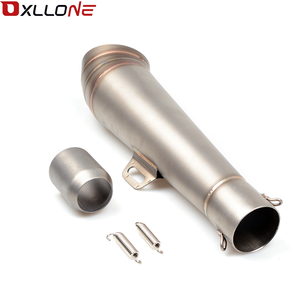 Image 5 - Universal 51MM Motorcycle Exhaust Pipe With Muffler Moto Bike Pot Escape For for honda CG125 CB190R 599 CB300F CB500F ABS-in Exhaust & Exhaust Systems from Automobiles & Motorcycles