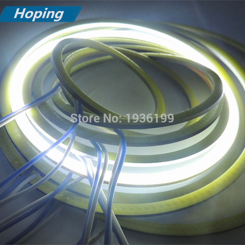 Hoping Car led COB Angel Eyes 130mm COB Halo Rings car styling led light 2PCS biały czerwony niebieski