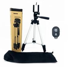 35-106 см Универсальный Телефон Штатив клип набор для сотового телефона стенд держатель Регулируемая камера штатив для iPhone X XS Bluetooth Remote
