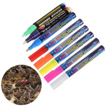 1 Pcs Queen Bee Marking Marker Pen Set 8 Color Beekeeping And Bees Tools Mark Plastic Marks