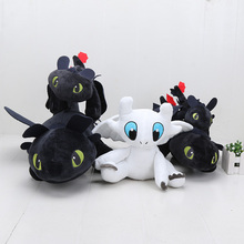 22cm 33cm 40cm 55cm How to train your dragon Toothless Light Fury Stuffed Plush Toys Soft