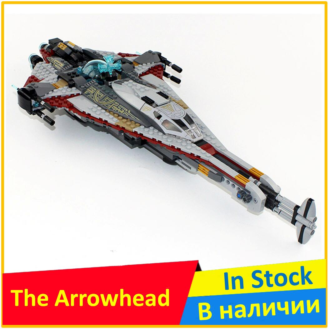 The Arrowhead 75186 Building Block Model 05113 Compatible Legoing Lego Starwars With Space Wars Brick Educational Toys For Children In Blocks From Hobbies On