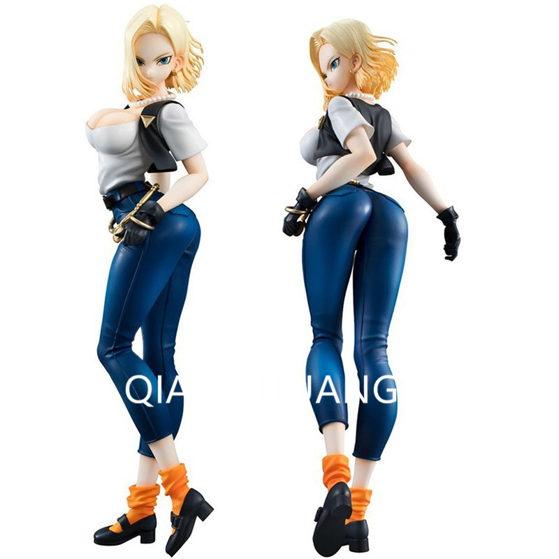 Anime Dragon Ball Z Android Standing Posture Akira Toriyama PVC Action Figure Collection DBZ Model Toy G168