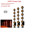 8 шт./лот 6x300 Вт галогенные лампы освещение для сцены освещение цветовая температура 2900K Декорации для сцены диско DJ свадебное освещение