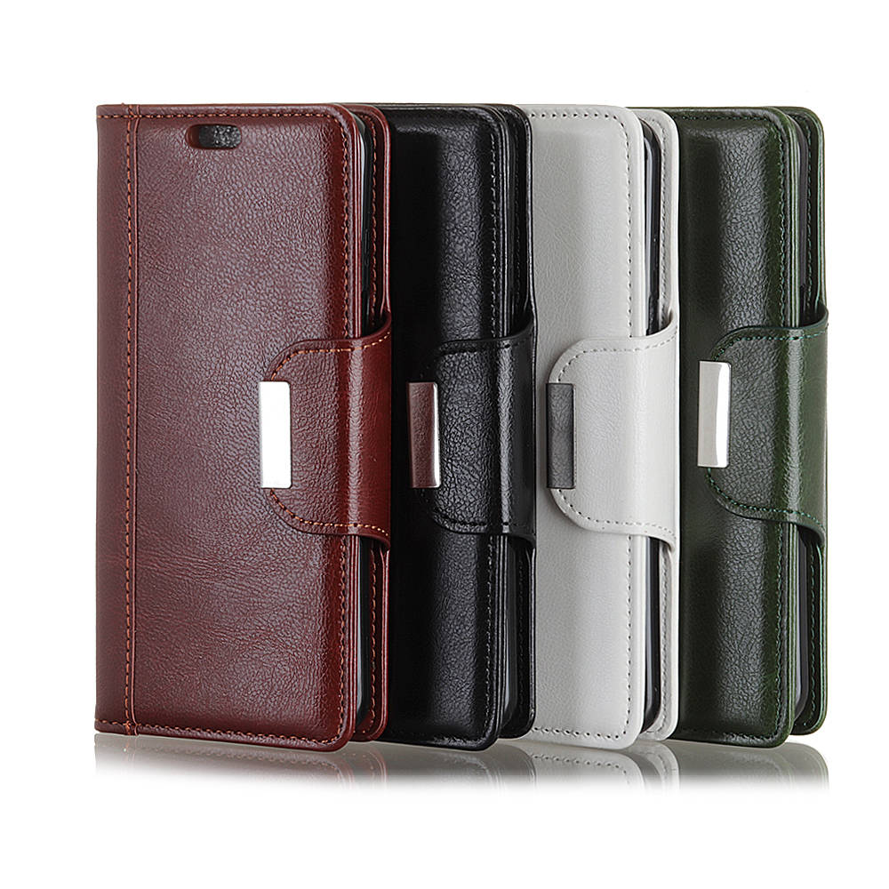 ZB570TL Magnetic Business book Case For Asus ZenFone Max Plus M1 ZB570TL Luxury Leather Wallet Photo frame Flip Stand Cover case in Wallet Cases from Cellphones Telecommunications
