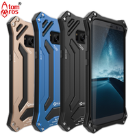 Luxury Life Waterproof Shockproof Metal Aluminum Armor Hard Case For Samsung Galaxy S8 S8 Plus Cover