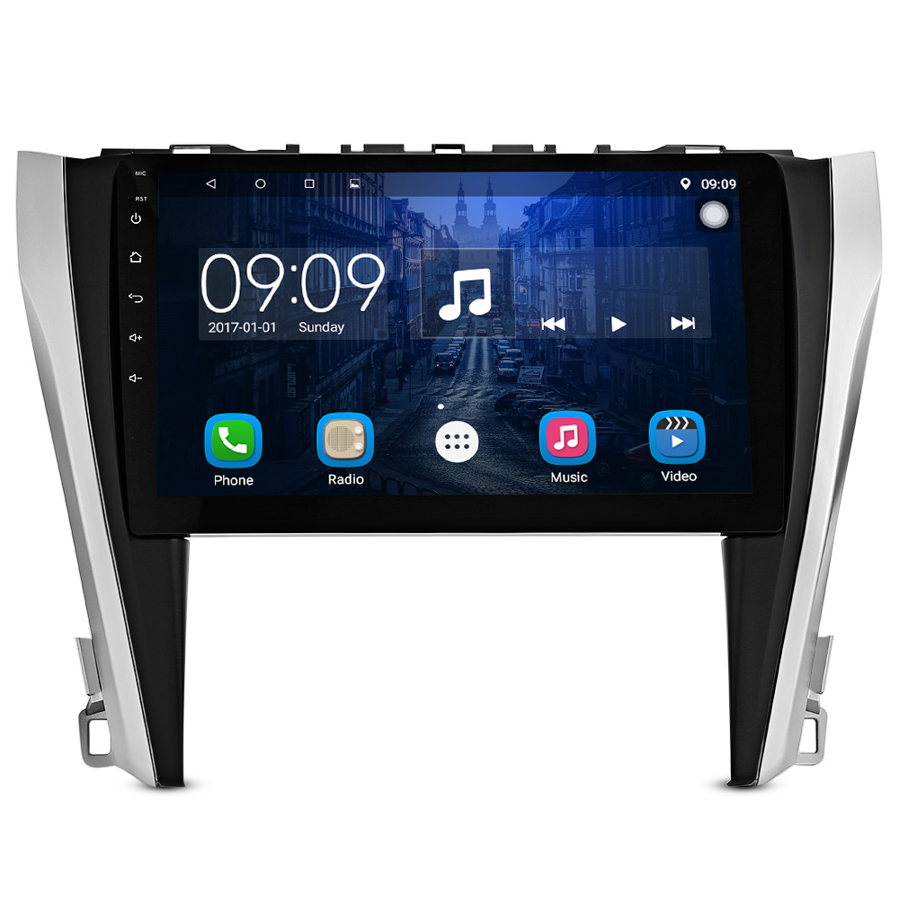 10 inch HD Touch Screen Car Multimedia Player Bluetooth Car Radio with GPS Navigation Steering wheel control for 12 - 15 Camry besina touch screen car dvd player radio for peugeot 508 multimedia radio bluetooth steering wheel control gps navigation usb