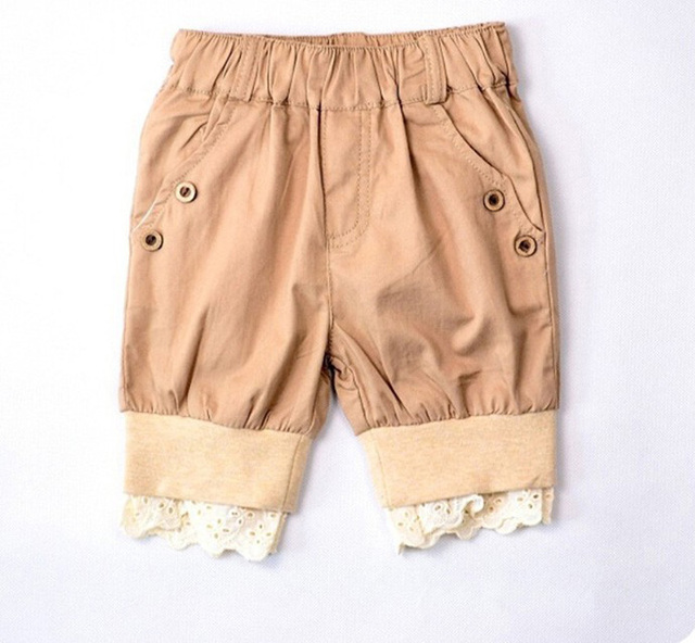 Aliexpress.com : Buy Khaki Boys Pants Girls Short Pants Fashion ...