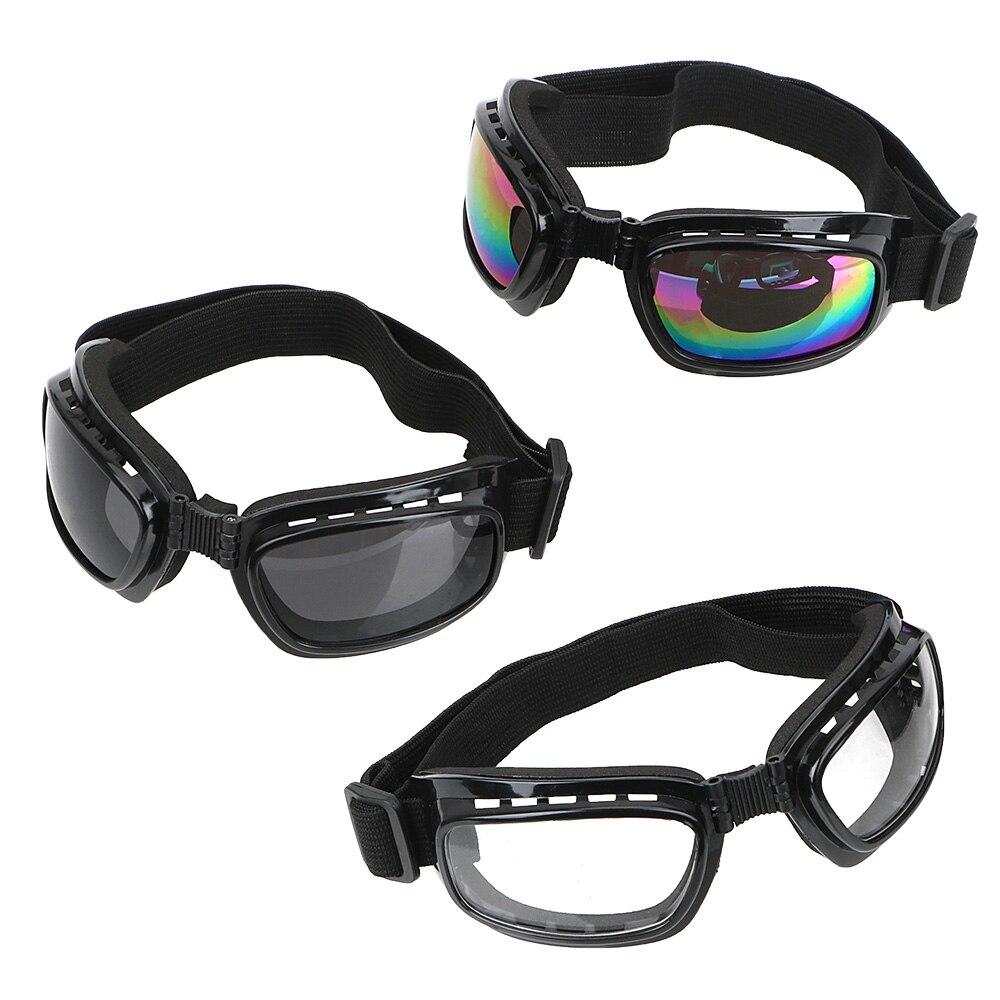 LEEPEE Cycling Glasses UV Protection Motorcycle Glasses Windproof Dustproof Motocross Sunglasses Sports Ski Goggles Anti Glare