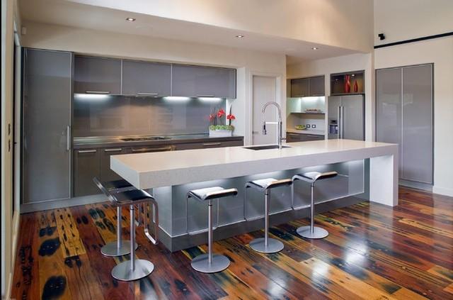2017 modernes design hochglanz weiß lackiert küchenschränke in 2017 ...
