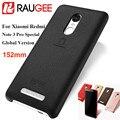 Raugee para xiaomi redmi note 3 pro especial edição internacional 152mm pu telefone capa case para 5.5 ''redmi note3i pro primeiro