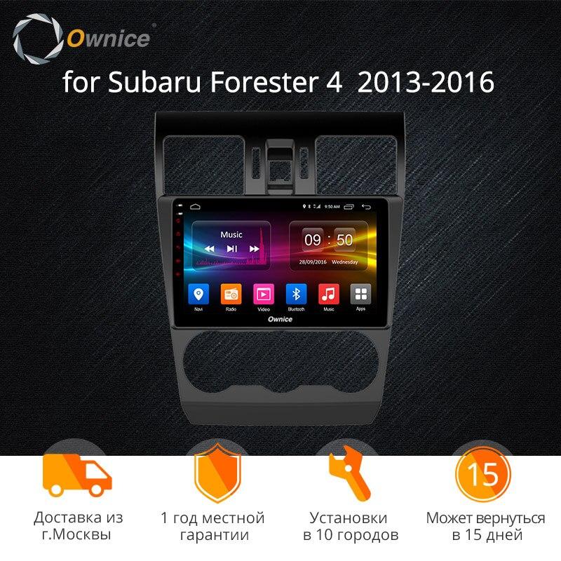 Ownice K1 K2 K3 Android 9.0 Octa Núcleo Carro DVD Player de Navegação GPS Som Do Carro para Subaru Forester 2013 2014 2015 2016 GB 4 32G