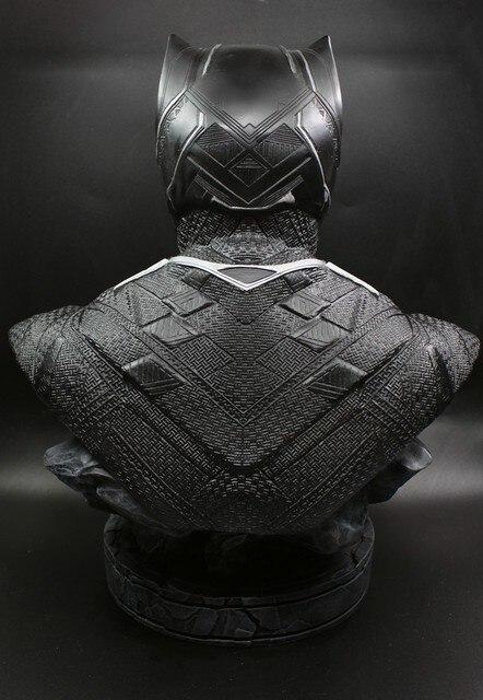 Бюст Железный человек и черная пантера Марвел 3
