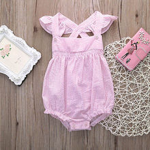 Newborn Baby Girl Clothes Cute Striped Baby Girl Boy jumpsuit Korea Styles Baby Romper 0-24 Months Baby Clothing Set
