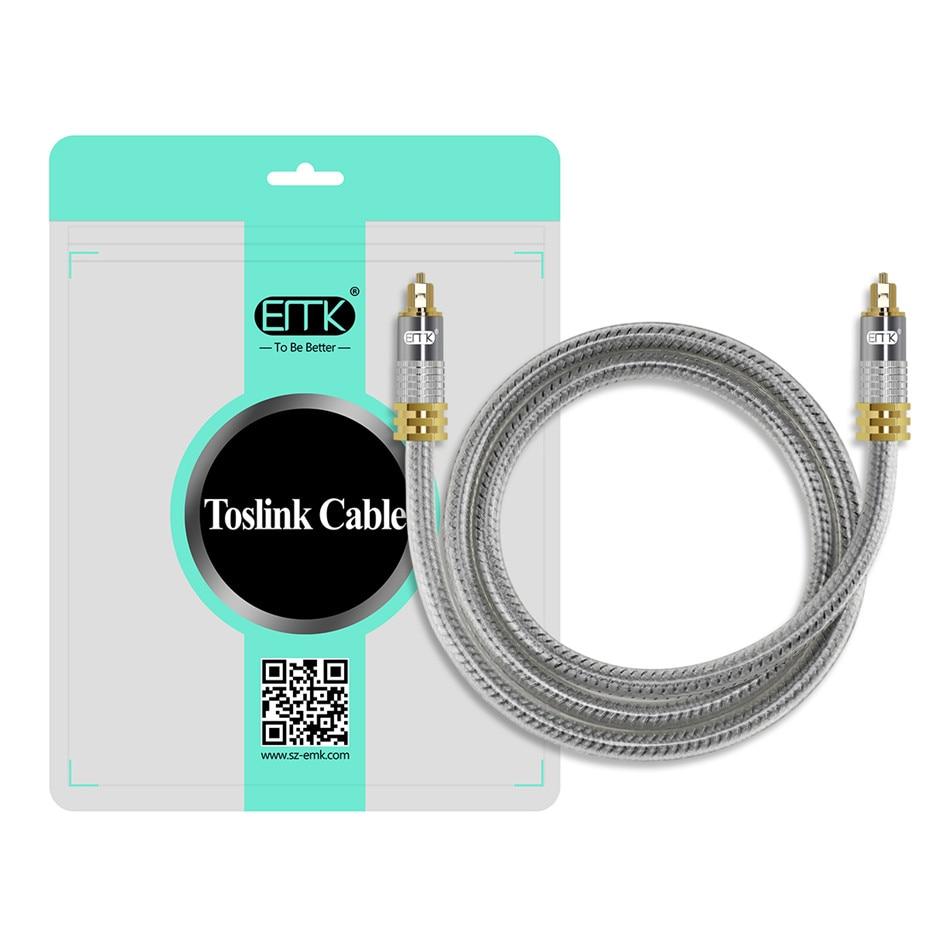 13 Top Grade OD8.0mm Spdif Optical Cable Gold Connector Digital Fiber Optical Toslink Audio cable 1m 1.5m 2m 3m 5m (6)