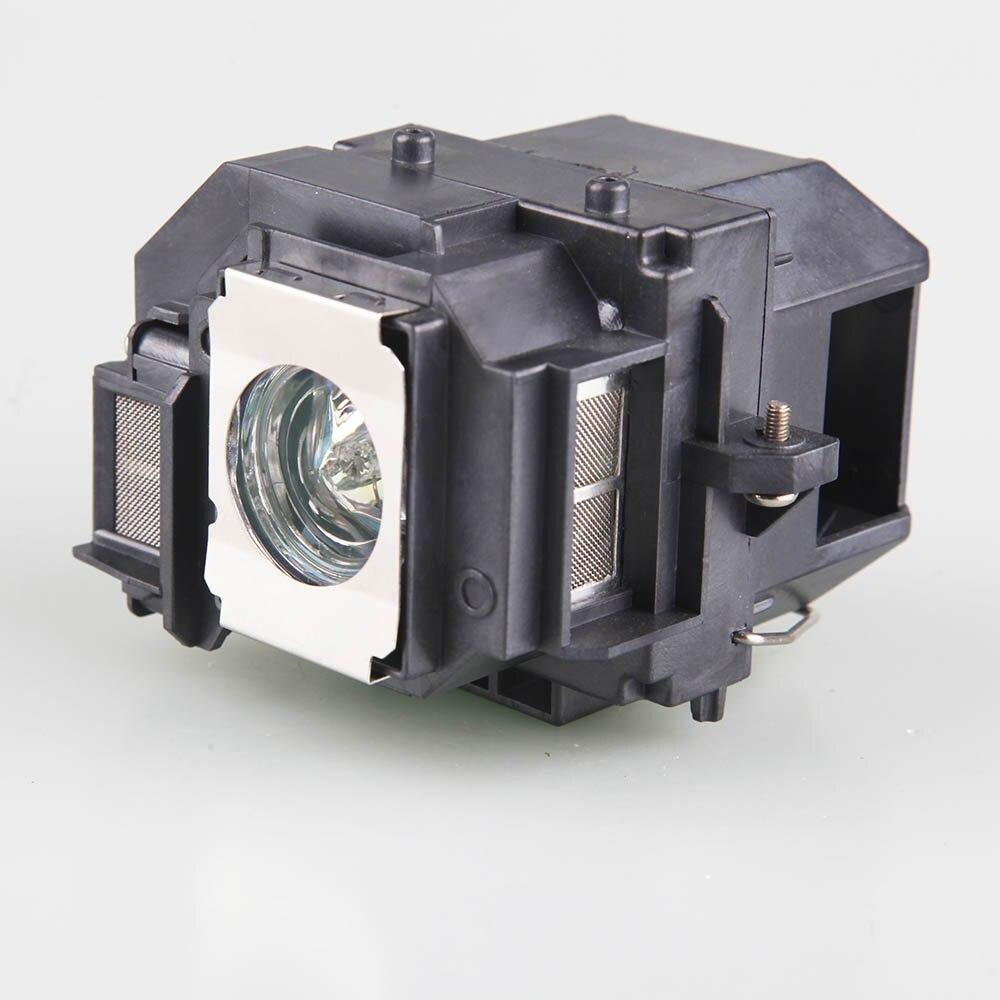Alta Qualidade EB-S10/EB-S9/EB-S92/EB-W10/EB-W9/EB-X10/EB-X9/EB-X92 Para EPSON ELPL58 bulbo da lâmpada do projetor com houisng