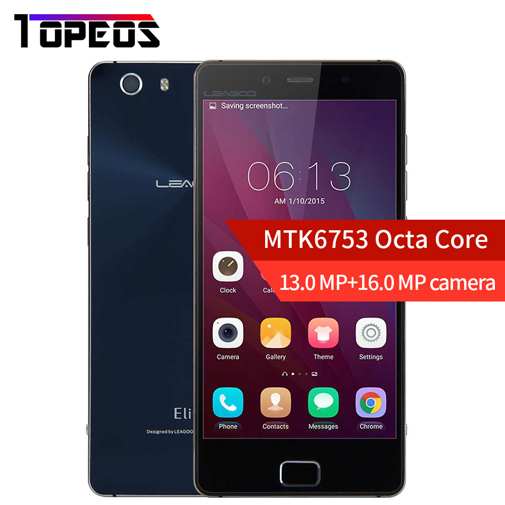 Leagoo Elite 1 Mobile Phone 1920 1080 FHD MTK6753 Octa Core 3GB RAM 32GB ROM 4G