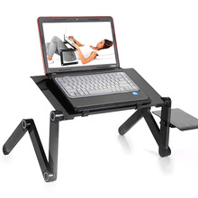 Portable Adjustable Assembled Folding Table for Laptop Computer Desk Household Home Office Computer Desk Table Holder Accssories