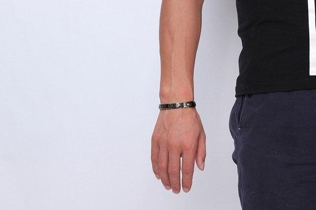 2020 лидер продаж мужские браслеты из керамики здоровые модные фотография