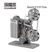 3D Metal Puzzles Model For Adult Kids Jigsaw Projector Educational Toy Juguetes Collection Birthday Christmas Gift