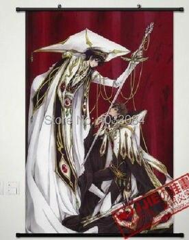 Новый Код Гиас Лелуш Восстания: r2 Домашний декор плакат стены прокрутки аниме