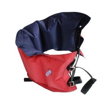 73*26 CM adulto ajustable inflable cinturón de natación anillo de natación flotador banda de flotación con correas