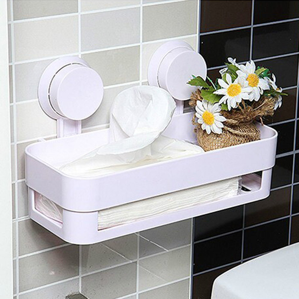 Plastic Bathroom Shelf Kitchen Storage Holder Kitchenware Toiletry Dish Rack with Sucker China  Mainland. Compare Prices on Plastic Bathroom Shelf  Online Shopping Buy Low