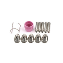 1 Set Plasma Cutter Consumables Kit SG55 AG60 Cutting Torch Tip Nozzles Shield Cup great promotions nozzles extended tip torch complete rave reviews 23 foot