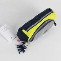 Waterproof Nylon Brand Monkey School Pencil Case With Many Colors 21 5 10 5 6 5cm