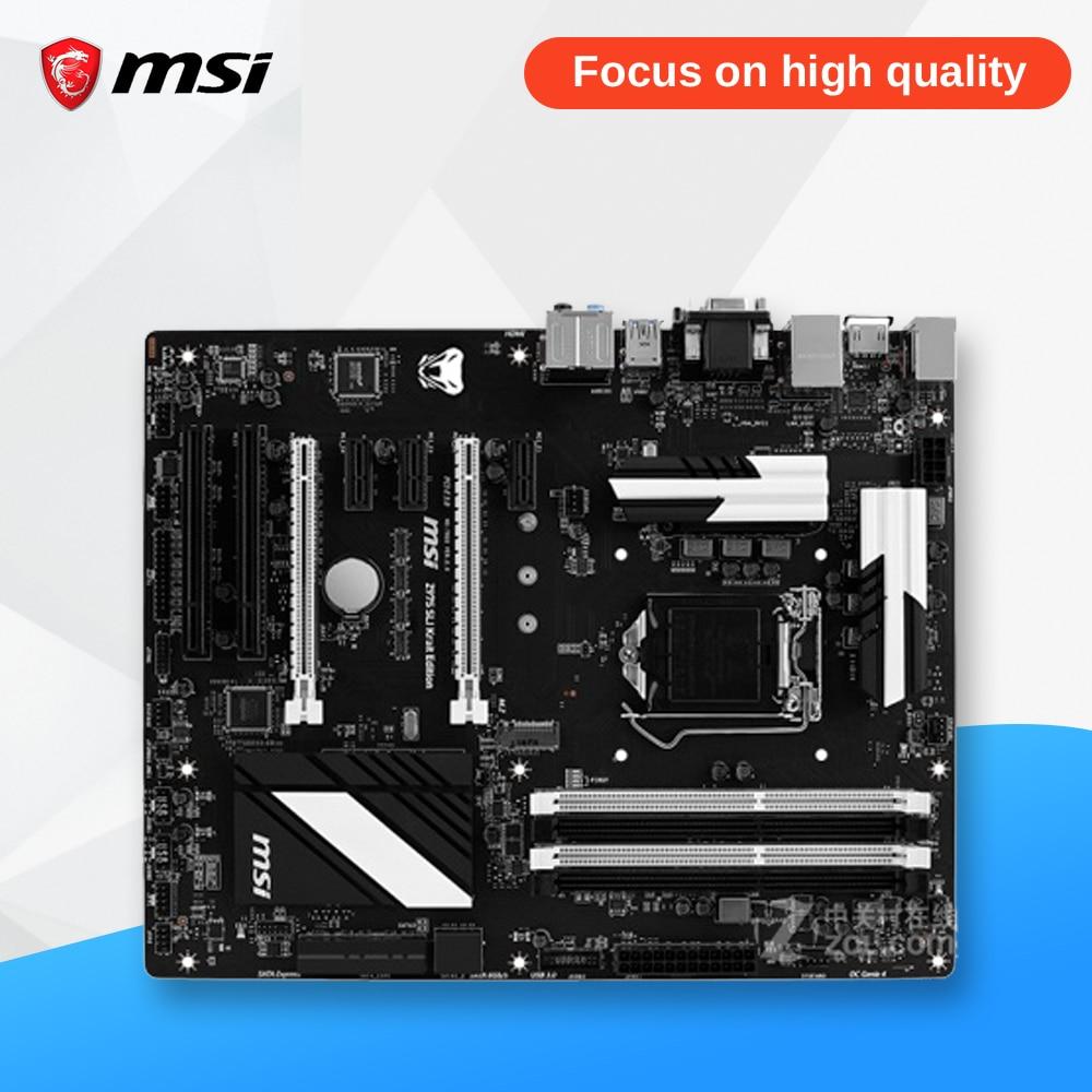 MSI Z97S SLI KRAIT EDITION Original Used Desktop Motherboard Z97 Socket LGA 1150 i3 i5 i7 DDR3 32G STAT3 ATX msi 970a g46 original used desktop motherboard 970 socket am3 ddr3 32g stat3 usb3 0 atx on sale