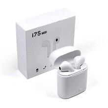 Venda quente Air Vagens I7s TWS Mini Sem Fio Bluetooth Fone de Ouvido Estéreo Fone de Ouvido Intra-auriculares com Caixa De Carregamento Microfone para Todos Inteligente telefone