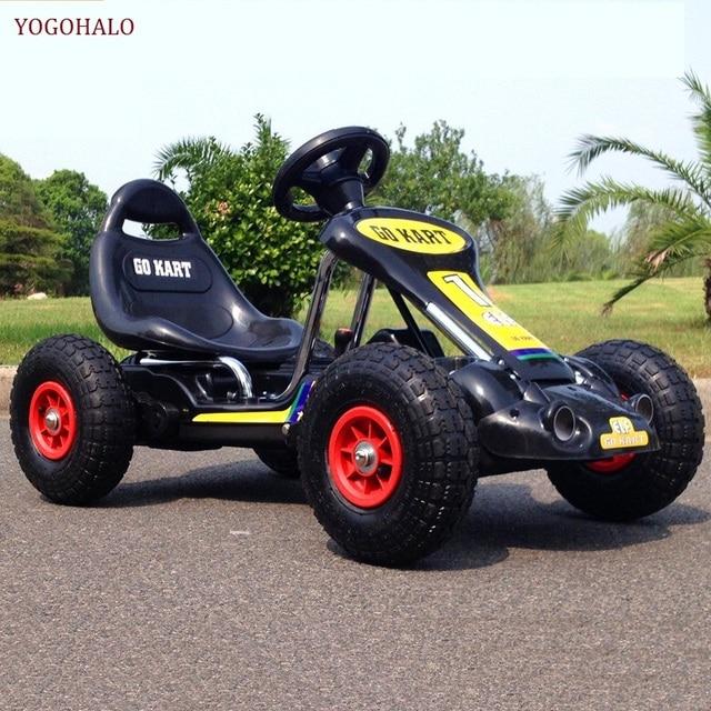 Die Neue Kinder Elektrische Auto Kinderwagen Road Kart Vier Dual