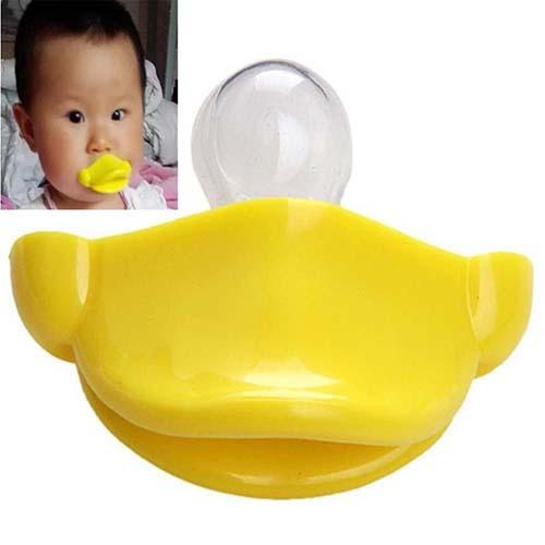 Funny Cute Duck Mouth Baby Pacifier Infant Silicone Nipple Dummy Soother Gift