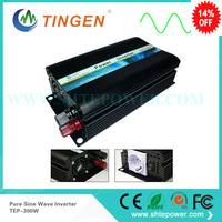 dc ac power inverter 12v to 110v / 120v 300w pure sine wave inverter, solar inverter