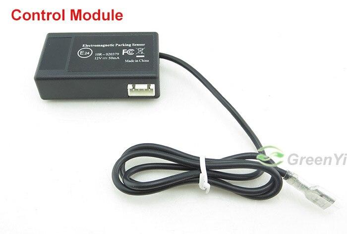GreenYi 10 шт авто электромагнитный датчик парковки, легко Установка, без отверстия, автомобилей Обратный резервные датчики, резервное копирование радар