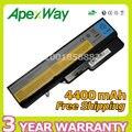 Apexway 6 células 4400 mah bateria do portátil para lenovo ideapad g460 g470 g560 l09s6y02 57y6454 57y6455 lo9l6y02 lo9s6y02